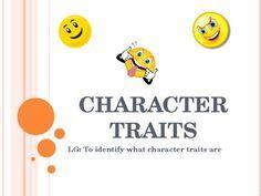 Literary analysis character trait